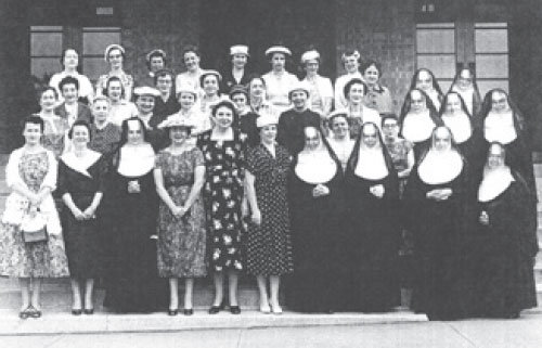 Mercy 1932 faculty and staff